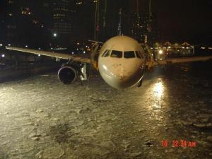 Front shot flight 1549 pulled from river